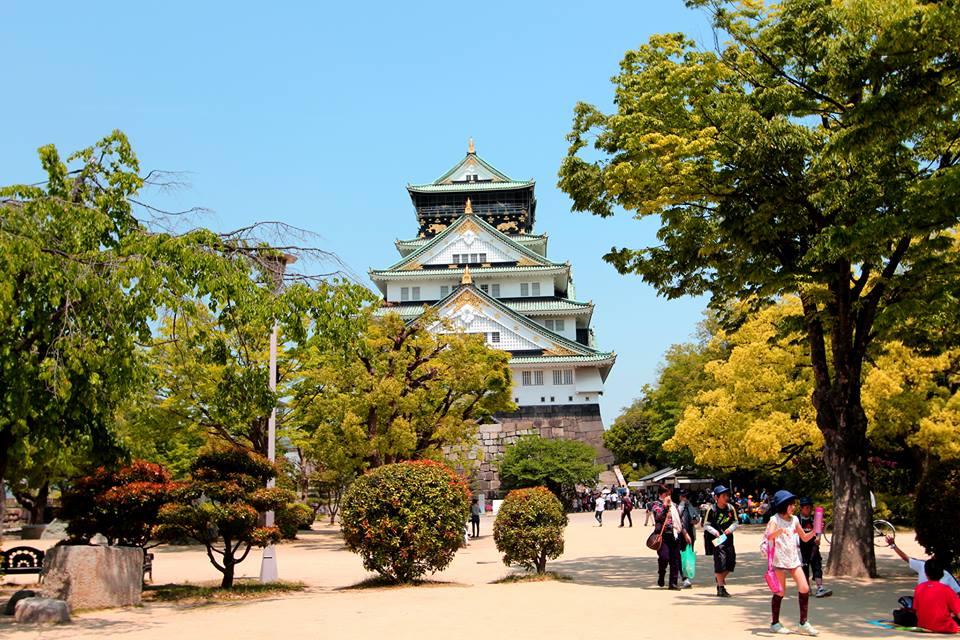 Istana osaka di Jepang