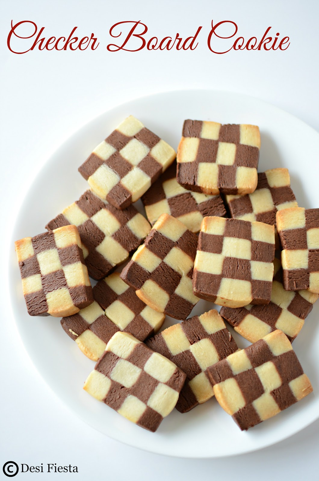 how to make checkerboard cookies