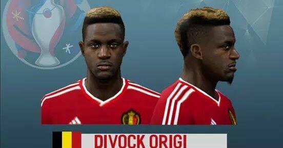 ultigamerz: PES 6 Divock Origi (Belgium NT) Face & Hair