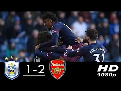 Huddersfield vs Arsenal 1 - 2 Football Highlights and Goals 2019