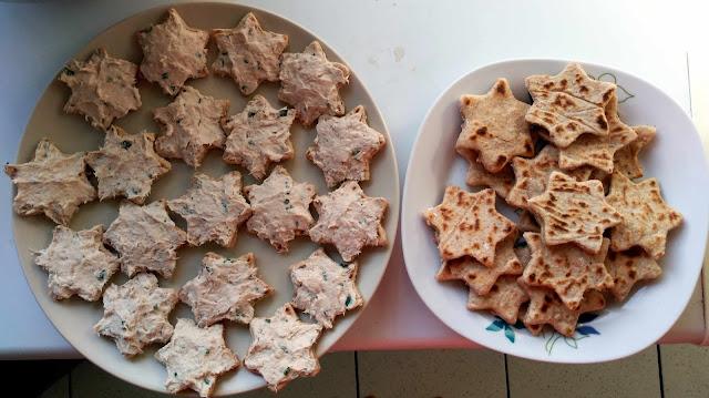 toasts sains protéinés thon carré frais farine complète