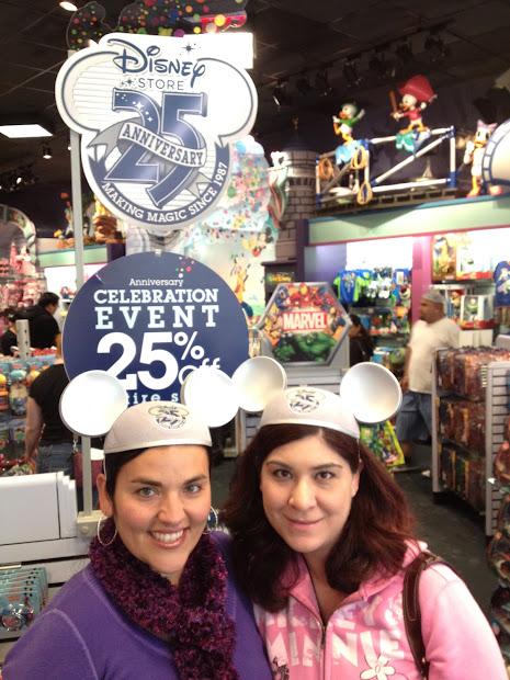 Disney Sisters Store Celebrates 25 Years Of Magic