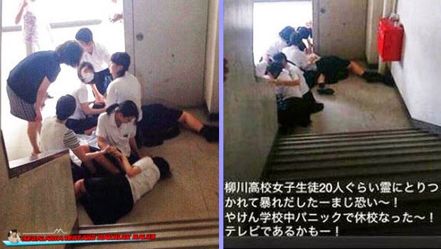 Kesurupan Masal di Jepang Diduga Gangguan Hantu Tanpa Kepala