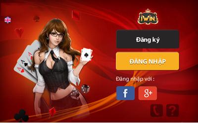 màn hình đăng nhập game iwin phiên bản mới nhất