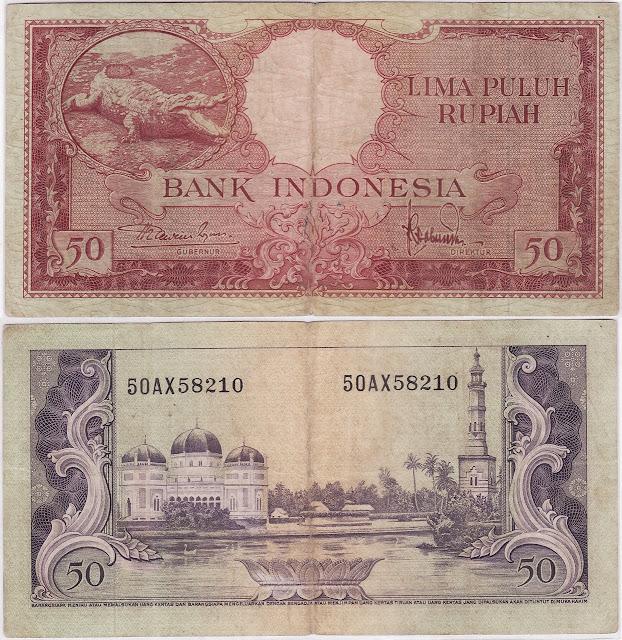 uang kertas indonesia seri hewan