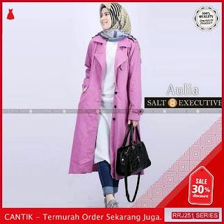 Jual RRJ251O102 Outerwear Aulia Coat Wanita St Terbaru Trendy BMGShop