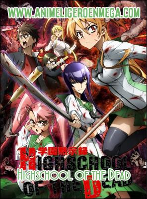 Highschool of the Dead: Todos los Capítulos (12/12) + OVA (01/01) [Mega - Google Drive - MediaFire] BD - HDL