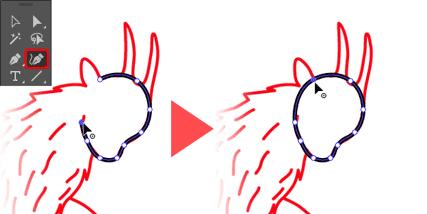 頭部の描き方1