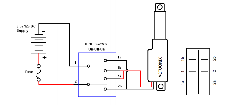 Round Rocker Switch Wiring Diagram 3 Position Toggle
