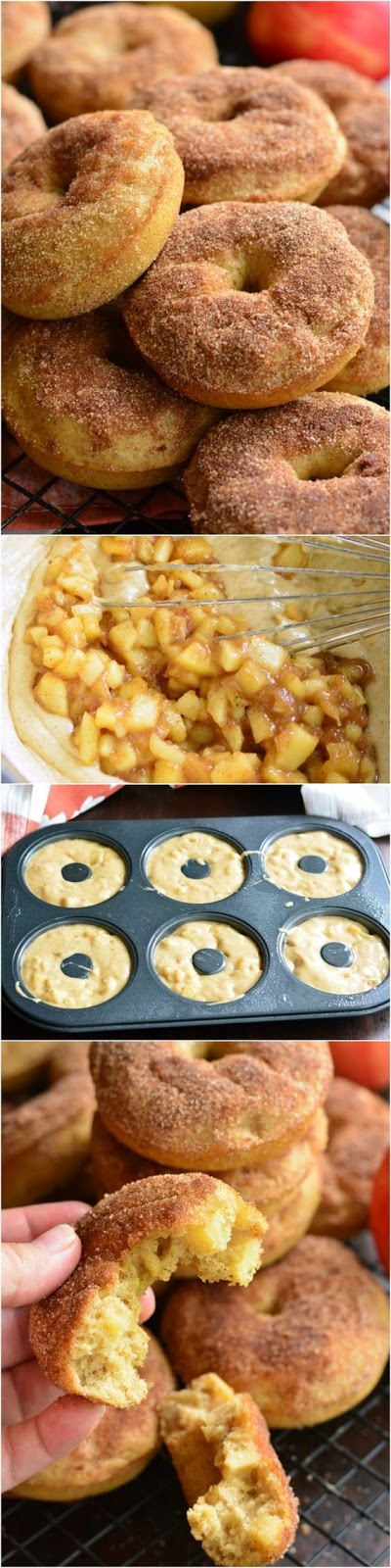 Apple Pie Baked Doughnuts