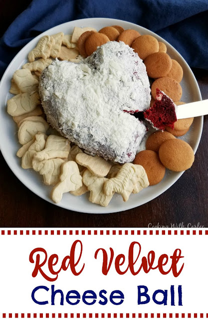 Luscious red velvet cake and cream cheese frosting flavors come together for a one of a kind dessert experience. Red velvet cheese balls are perfect for Valentine's Day, Christmas or just because!