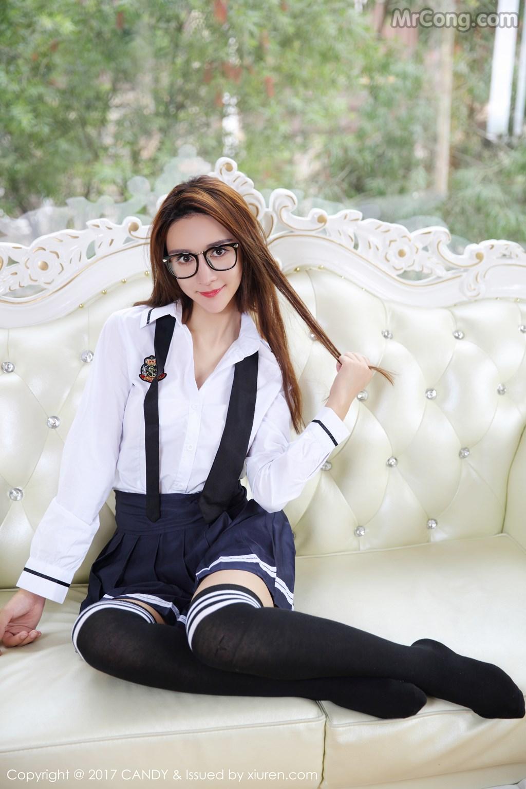 Image CANDY-2017-04-28-Vol.020-Yi-Li-Na-MrCong.com-006 in post CANDY Vol.020: Người mẫu Yi Li Na (伊莉娜) (59 ảnh)