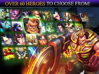Heroes of Order & Chaos APK MOD 3.6.1e - HOC MOD No Ads Games MOBA Android Terbaru