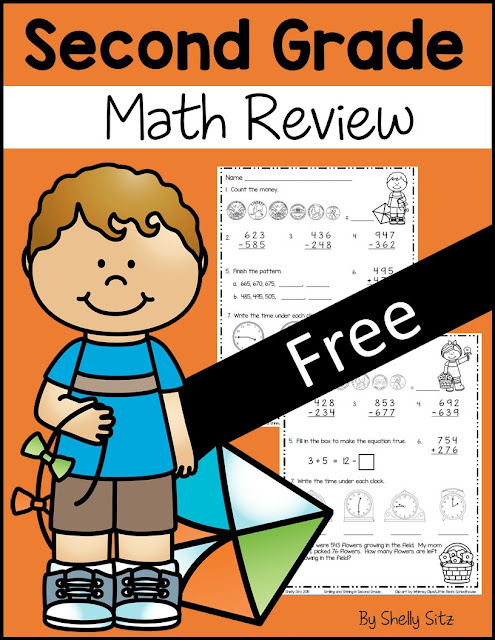 Smiling and Shining in Second Grade: Spring Math for Second ...