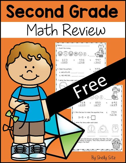 2nd Grade Math Homework Packet