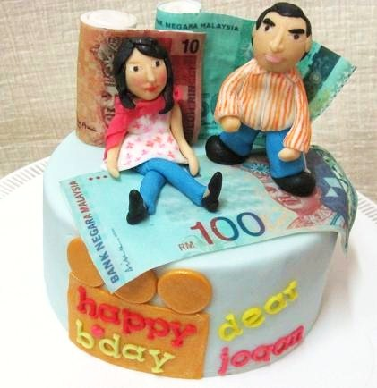 Mom And Daughter Cakes Money Money Cake