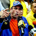 Capriles: Con el decreto de excepción quieren acabar con la protesta