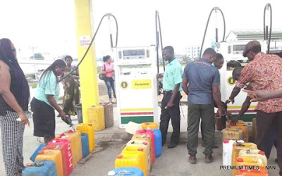 Nigerians Lament as Price of Kerosene Rises by 60%...See Details