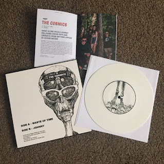 The Cosmics Waste of Time / Johnny Vinyl