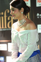 Raashi Khanna in Off Shoulder Top and Blue Skirt Cuteness Overloaded at IIFA Utsavam Awards 2017  HD Exclusive Pics 09.JPG