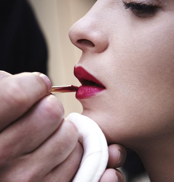 MARIACARLA BOSCONO for LA ROUGE GIVENCHY Adv Campaign - Making Of