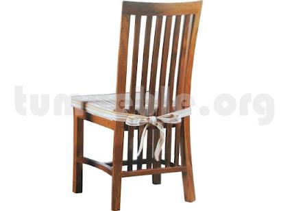 silla comedor en teca 4089