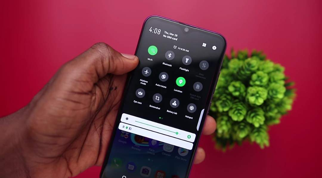 Infinix Hot S4 Dark Mode