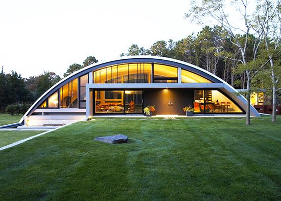 macam macam bentuk atap melengkung