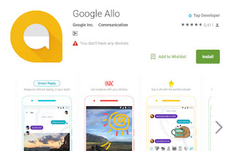 Download Google Allo 1.0.006_RC18 APK  by Google Play Store