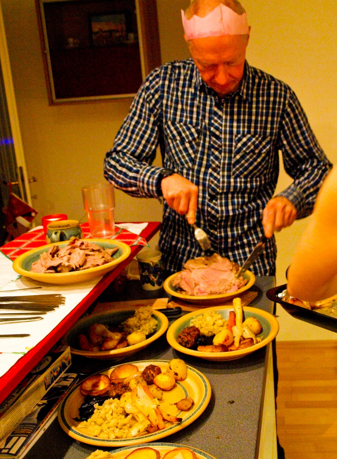 Avis So Cook Good Gobble Christmas Dinner In Vienna Blue Cheese Stuffing
