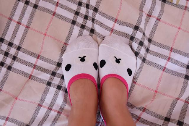 Cute foot socks