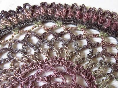 crochet, design, lace, color changing,