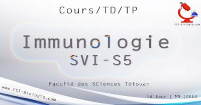 COURS de IMMUNOLOGIE SVI Semestre S5 PDF à Télécharger SVT 5