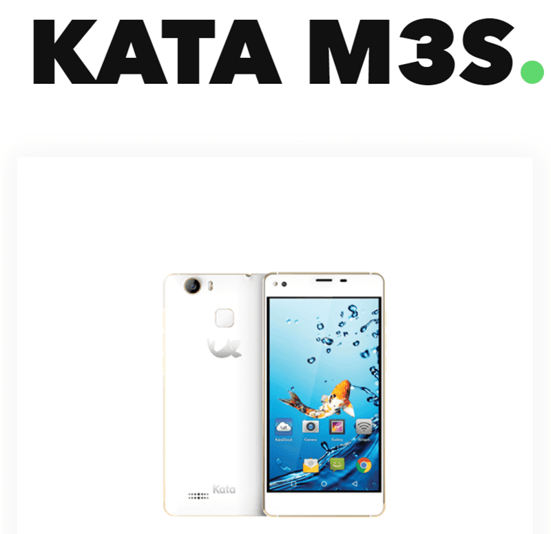 Kata M3s With MT6737 Now Official, Priced At PHP 7399!