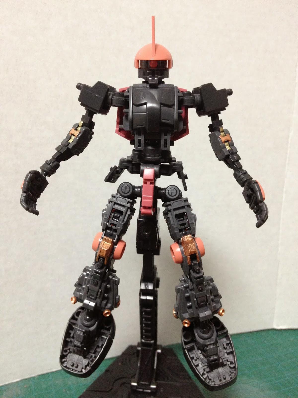 RG 1/144 Char's Custom Zaku II | ZakuAurelius