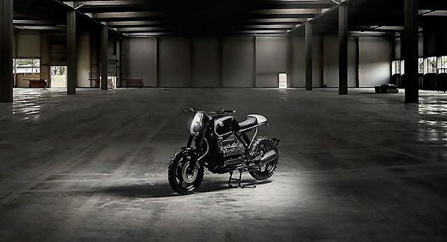 BMW K100 By Titan Motorcycles Hell Kustom