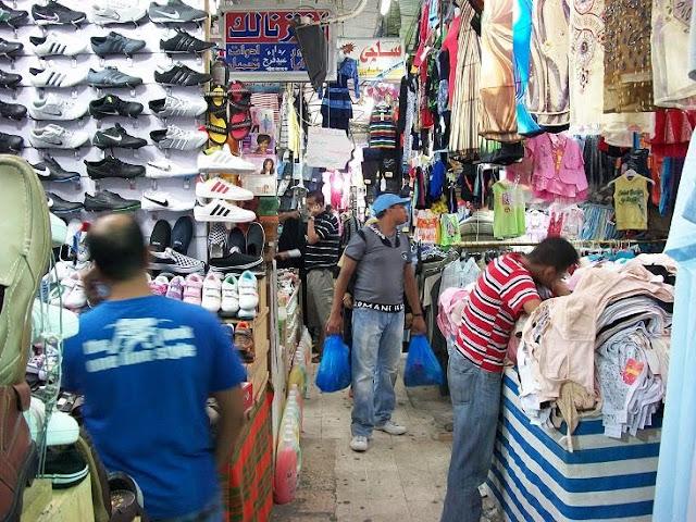 سوق ليبيا في مرسي مطروح