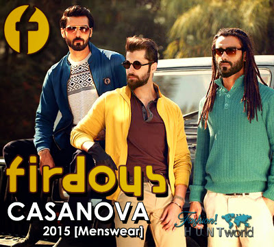 Firdous Casanova Men's Collection 2015-2016 | Firdous Men's Winter 2015-2016 - Fashion Hunt World | Fashion & Lifestyle Blog
