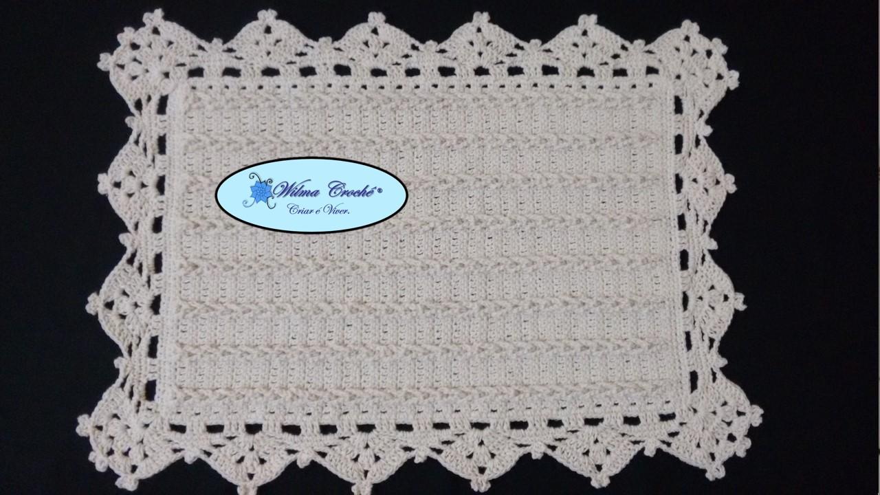 Wilma Croch Tapete Tran As Em Croch Com Passo A Passo Super Facil