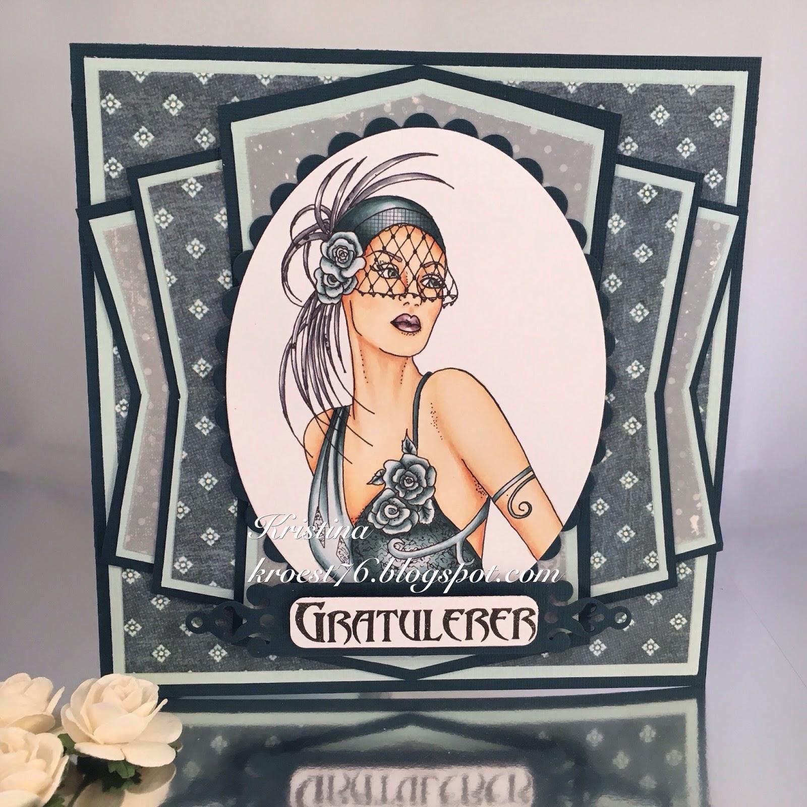 Kristinas kortblogg enda et art deco kort for Art et decoration download