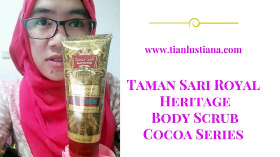 Taman Sari Royal Heritage Body Scrub Cocoa Series