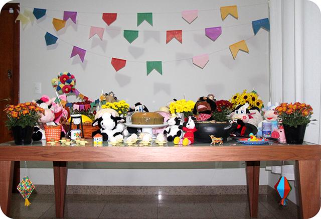 Decoração : Festa Caipira na Fazendinha do Lorenzo