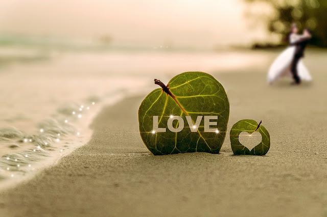 couple plage