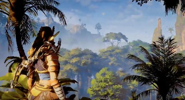 ¡Mira como luce Horizon Zero Dawn en PS4 Pro!