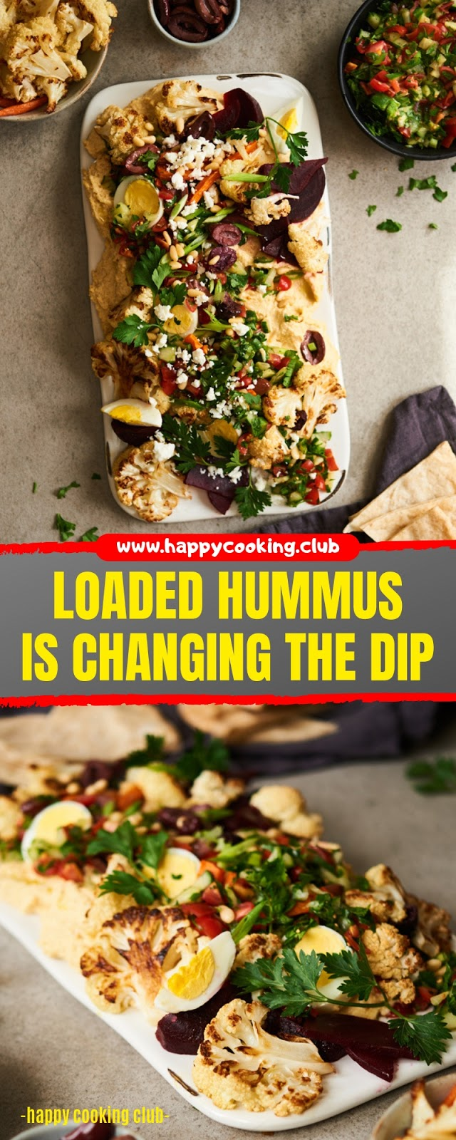 LOADED HUMMUS IS CHANGING THE DIP