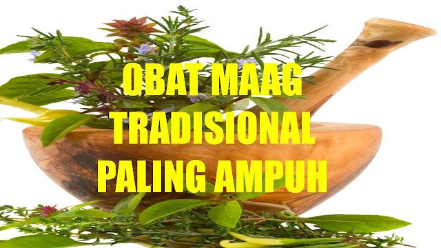 Obat Maag Tradisional Terbukti Ampuh