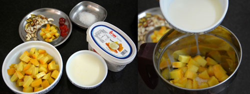 how to make Mango Mastani