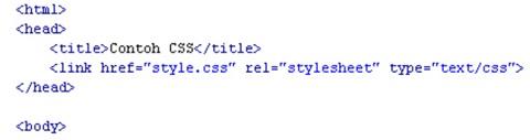 Pengertian dari CSS, Fungsi CSS Beserta Contoh nya 5