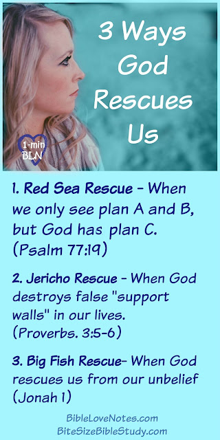 Psalm 73, God rescues us
