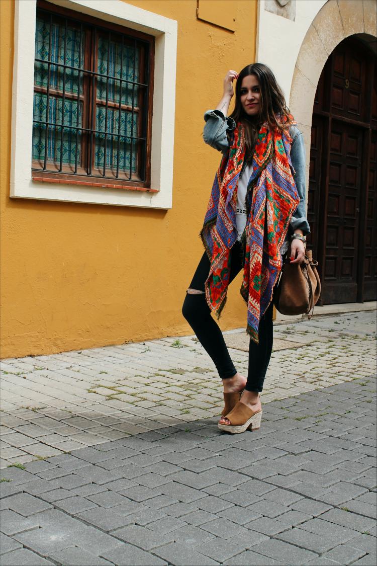 pañuelo de zara blog de moda leon